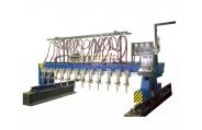 CG1-4000 Multi Torch Straight Strip Plate Cutting Machine