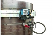 HK-100SE Auto Welding tractor for pipe tank horizontal curving stitch seam weld