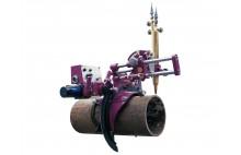 HK-305 Big diameter tube Pipe shape profile oxy-fuel cutting machine